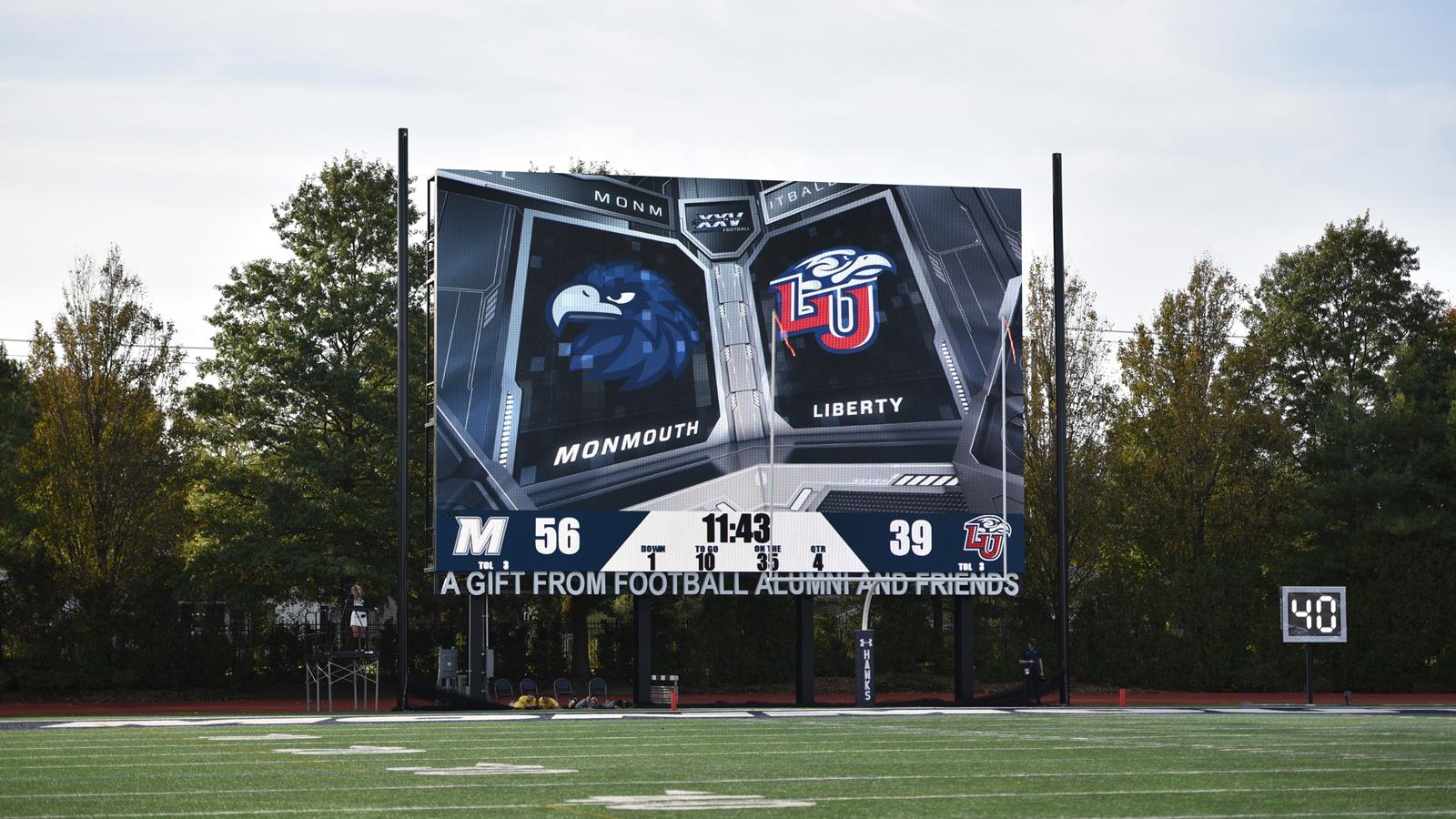 2017 football schedule released monmouth university hawks