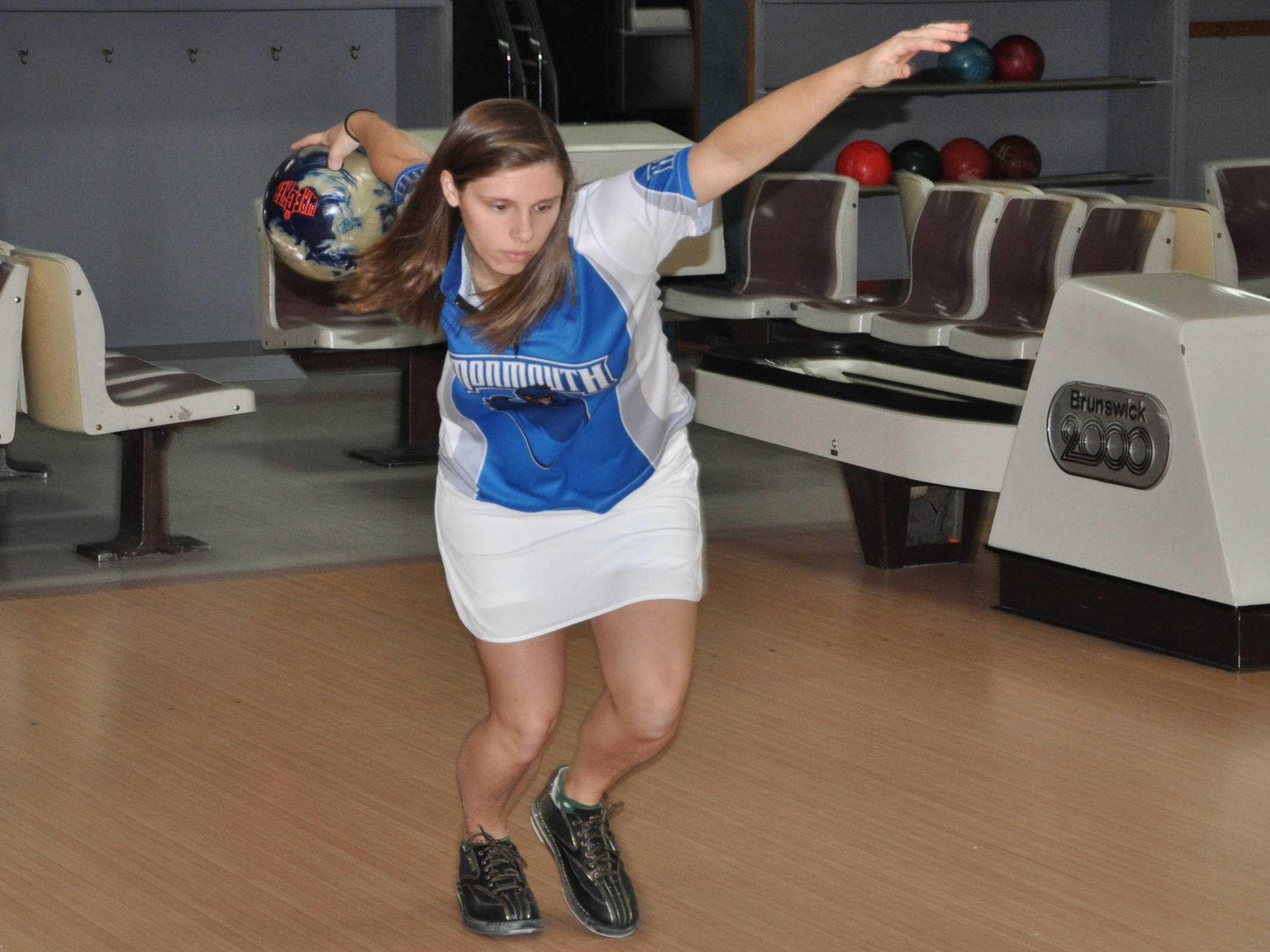 Reth Leads Monmouth Bowling At Kutztown Invitational Monmouth