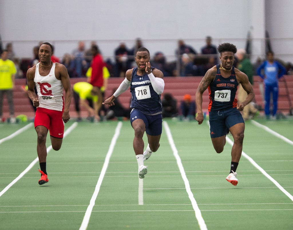 college track and field results